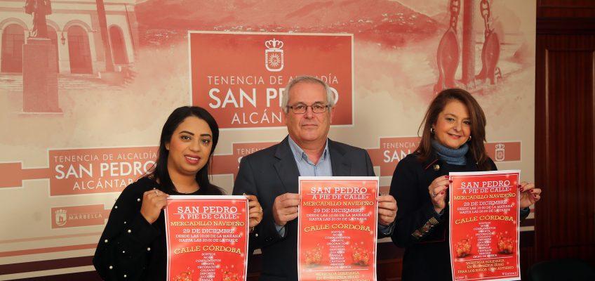 San Pedro Alcántara acogerá el 29 de diciembre un mercadillo navideño con más de 30 puestos de comercios locales