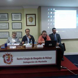 El Colegio de Abogados celebra en Marbella una jornada sobre ejecuciones hipotecarias e intermediación bancaria
