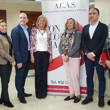 El Ayuntamiento de Marbella y la Diputación de Málaga garantizan la continuidad de la Asociación Concordia Antisida con una subvención de 100.000 euros