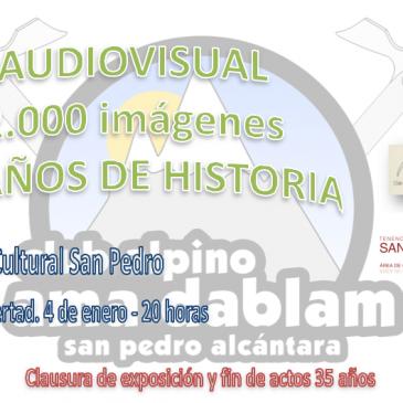 El Club Alpino Ama Dablam de San Pedro Alcántara clausura el viernes 4 de enero a las 20 horas en el Centro Cultural San Pedro, situado en la Plaza de la Libertad, la exposición con 50 fotografías que son una pequeña muestra de los 35 años de historia del club alpino sampedreño.