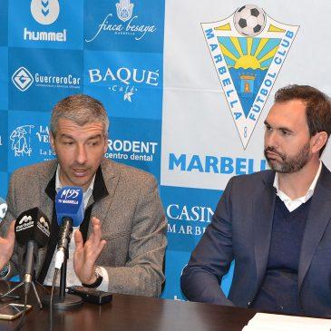 """Cubillo: """"Firmar por el Marbella F.C. fue fácil y rápido porque el proyecto es muy ambicioso"""""""
