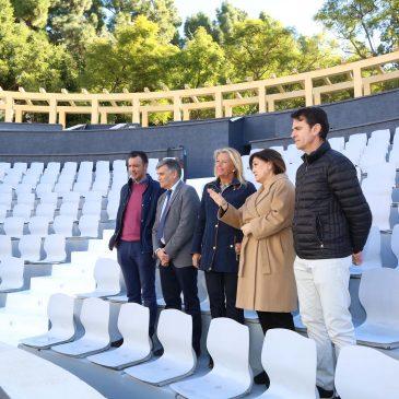 El Ayuntamiento recupera el Auditorio del Parque de la Constitución como espacio escénico dentro de las actuaciones para la puesta en valor de esta área verde