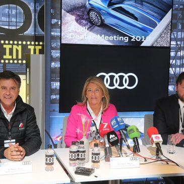 La alcaldesa destaca el importante retorno para Marbella que tendrá el Audi Dealer Meeting 2019, que generará más de 20.000 noches de hotel en la ciudad