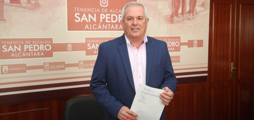 """Piña asegura que el mercado 'Sabor a Málaga' se llevará a cabo """"porque será un revulsivo para San Pedro Alcántara"""""""