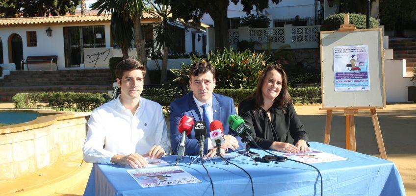 El Ayuntamiento y la Fundación INCYDE pondrán en marcha el 4 de febrero en Marbella y Nueva Andalucía una nueva edición del curso 'Emprendimiento, digitalización y cambio'