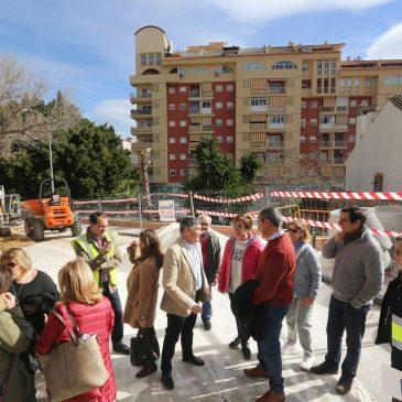 El Ayuntamiento acomete una nueva red de saneamiento en la calle Juanar para solventar problemas de inundaciones y filtraciones en viviendas del barrio La Patera