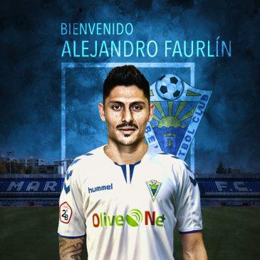 Alejandro Faurlín Nuevo fichaje del Marbella Fútbol Club