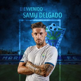 El Marbella Fútbol Club ha llegado a un acuerdo con el jugador Samuel Delgado