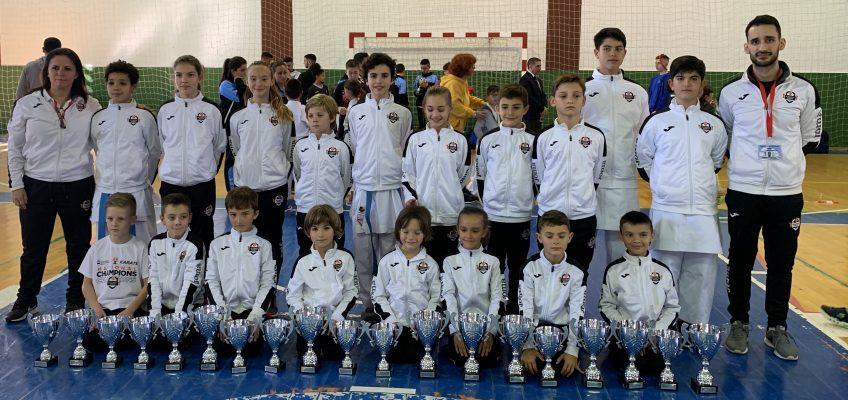 Olympic Karate Marbella Se alza con 19 Medallas En Campeonato de Málaga