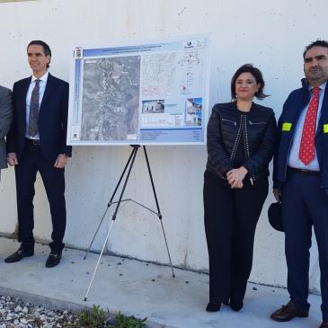 Acosol comienza las obras de Infraestructuras Generales de Abastecimiento a los Sectores Sur de Ojén y Norte de Marbella, que permitirán garantizar el suministro de agua en esas zonas y en el casco urbano de Ojén.