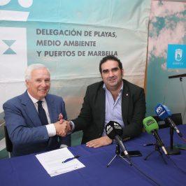El Puerto Deportivo Virgen del Carmen y el Club Marítimo de Marbella colaborarán para la promoción y realización de actividades náutico-deportivas este año en el recinto portuario