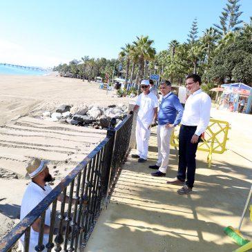 El  Ayuntamiento pone en marcha un plan de embellecimiento del Paseo Marítimo que contará con una inversión de más de medio millón de euros