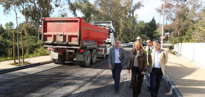 El Ayuntamiento destina cerca de dos millones al Plan de Asfalto, que renovará este año 65 viales de todo el término municipal