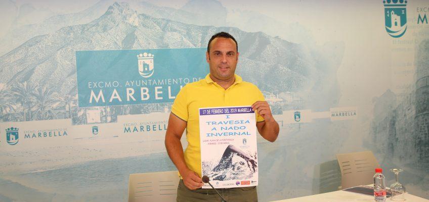 Marbella acogerá el próximo fin de semana ponencias con los mejores nadadores a nivel mundial en competiciones de aguas abiertas y la celebración de la I Travesía a Nado Invernal