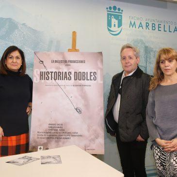 El Teatro Ciudad de Marbella estrena este fin de semana la obra 'Historias dobles', un espectáculo producido en la ciudad y basado en textos de Alejandro Pedregosa