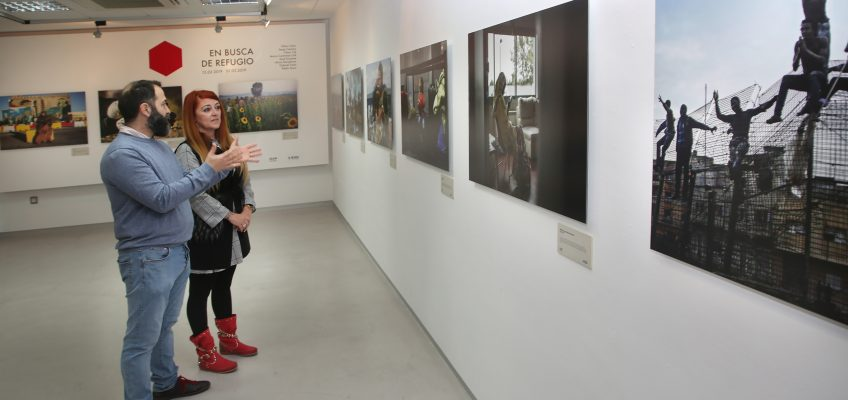 El Centro Cultural San Pedro acoge 'En busca de refugio', una exposición colectiva de 25 fotografías que estará disponible hasta el próximo 1 de marzo