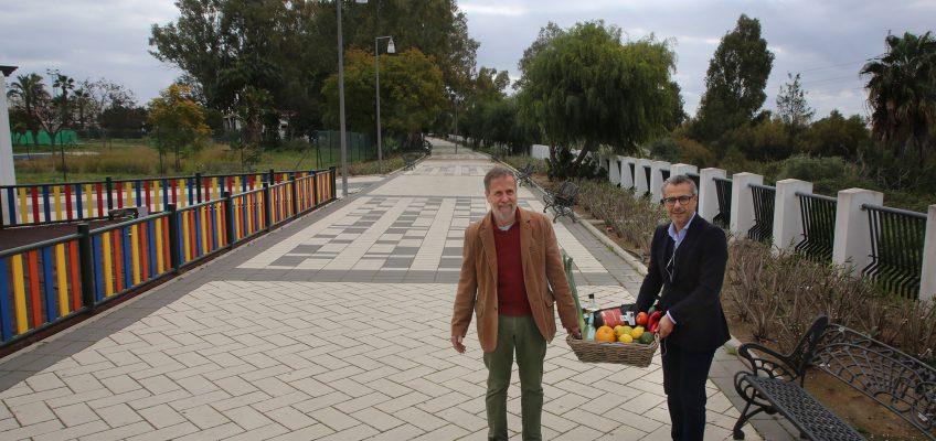 El Mercado Guadalhorce Ecológico cambia su ubicación en Nueva Andalucía de la calle Sirio al Paseo Fluvial Ramón Garzón