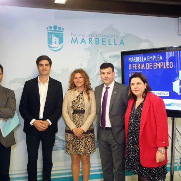 La segunda edición de la Feria de Empleo de Marbella se celebrará el 6 de marzo con el objetivo de superar las cifras del año pasado en ofertas de trabajo y asistentes