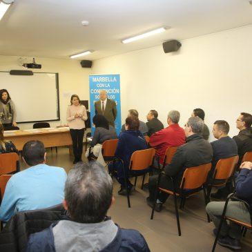 Más de 60 personas han participado en cuatro cursos impartidos a través del Proyecto de Inclusión Sociolaboral de Bancosol, fruto del convenio de colaboración con el Ayuntamiento