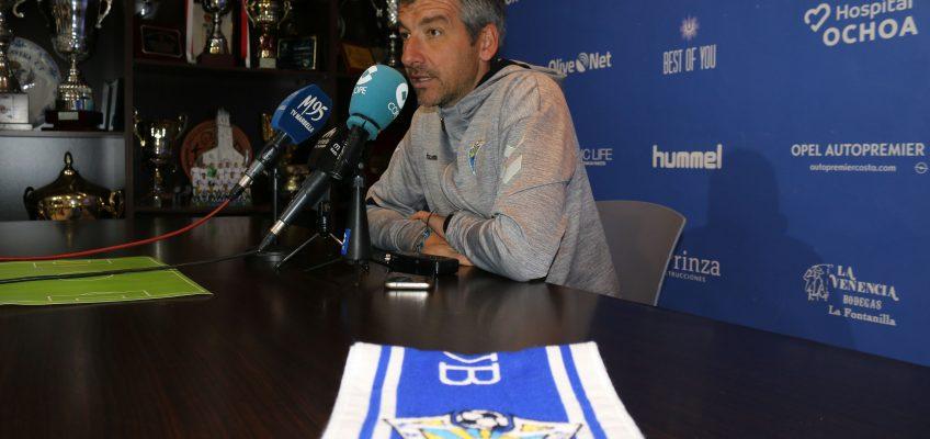 """Cubillo: """"Es un reto demostrar que el Marbella no solo es fuerte en casa"""""""
