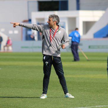 """Cubillo: """"El partido ante el Badajoz será extremadamente difícil y muy atractivo"""""""