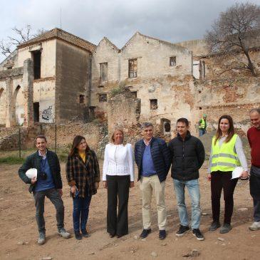 El Ayuntamiento acomete trabajos previos al proyecto de rehabilitación del Trapiche del Prado y de construcción de la residencia de mayores