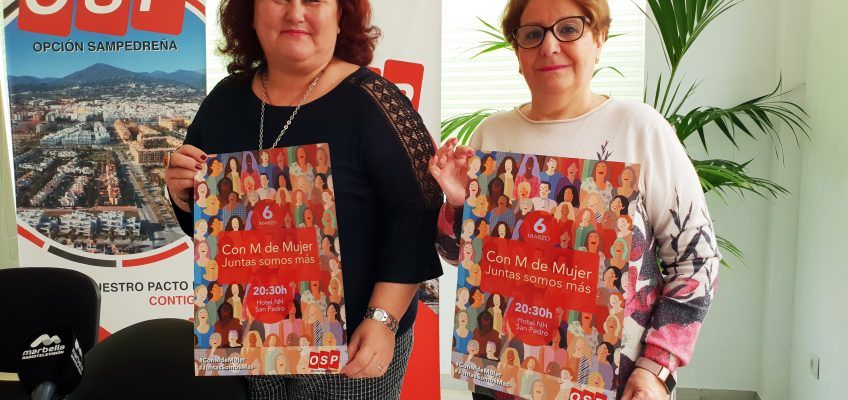 OSP celebra mañana la séptima edición de 'Con M de Mujer'