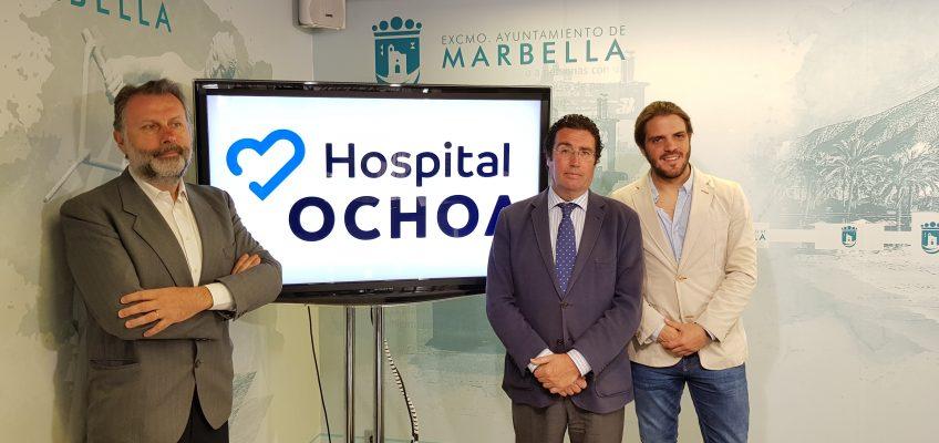 El Ayuntamiento respalda la campaña de detección precoz del cáncer de colon puesta en marcha durante por el Hospital Ochoa durante el mes de marzo