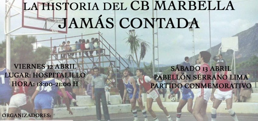 El CB Marbella organiza un ciclo de charlas sobre sus más de 30 años de historia