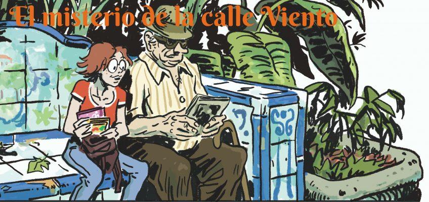 """La asociación Marbella Activa inicia hoy martes 26 de marzo una nueva campaña de crowdfunding para buscar financiación a su nueva publicación en formato de cómic """"El misterio de la calle Viento"""" ilustrado por el dibujante Rodrigo Vázquez"""