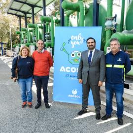 Acosol celebra el día mundial del agua con una jornada didáctica en la Desaladora