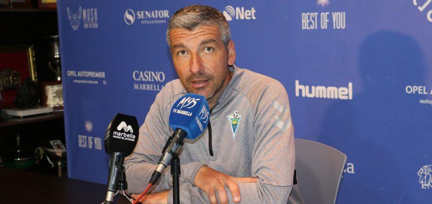 """Cubillo: """"Ambos equipos llegan en buenas dinámicas y con los mismos resultados"""""""