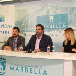 Marbella acogerá los próximos días 21 y 22 de marzo el VIII InterEcoForum, que abordará el tema 'Agua para el desarrollo sostenible'
