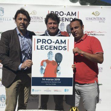 Marbella acogerá en el marco de World Padel Tour un torneo el 14 de marzo en homenaje a exjugadores profesionales precursores de este deporte