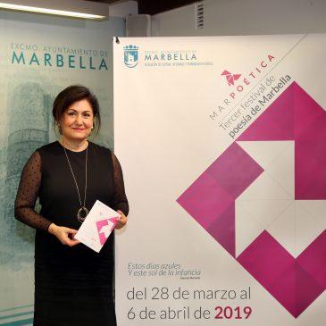 La tercera edición del Festival Marpoética llenará Marbella de versos y música del 28 de marzo al 6 de abril