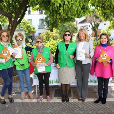 Marbella se suma a la campaña del Día Internacional de Prevención del Cáncer de Colon