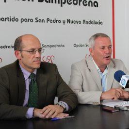 Osorio y Piña visitan la finca La Caridad y plantearán darle uso deportivo e institucional