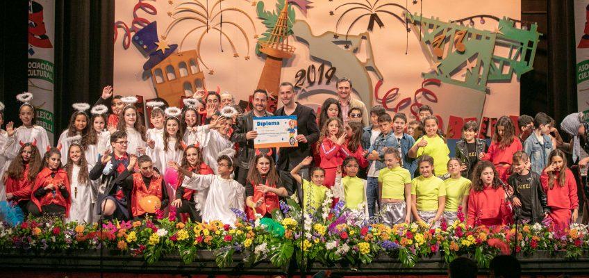'Los Influencers' y la 'Peña Cultural Flamenca Los Olivillas' ganan el Concurso Infantil de Chirigotas