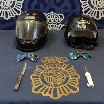 Esclarecidos siete robos con violencia o intimidación en la zona oeste  La Policía Nacional detiene a un asaltante tras ser captado en una videollamada al sustraer el teléfono móvil de una menor en Málaga