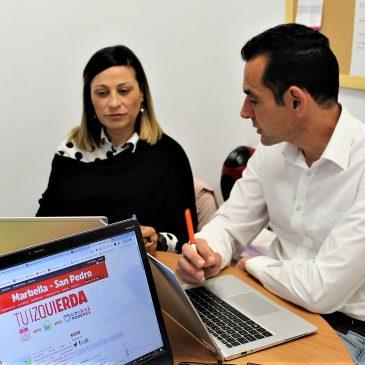 """IZQUIERDA UNIDA DENUNCIA LA """"ÍNFIMA"""" EJECUCIÓN PRESUPUESTARIA DE PP Y OSP EN MATERIA DE INVERSIONES  DIAZ: """"La liquidación del presupuesto municipal de 2018 en Marbella deja al descubierto la ínfima ejecución en materia de inversiones de PP y OSP, 7 de cada 10 euros presupuestados para inversiones no se han realizado"""""""