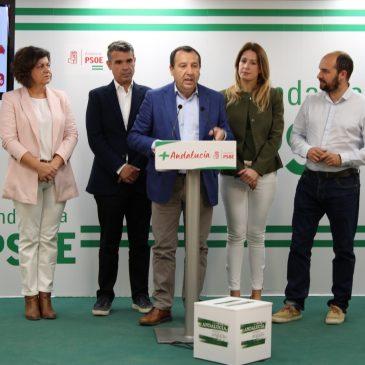 Ruiz Espejo asegura que el PSOE ganará las elecciones municipales ante un PP «en descomposición» en la provincia de Málaga