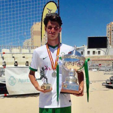 El marbellí Alejandro Achutegui convocado con la Selección Sub-21