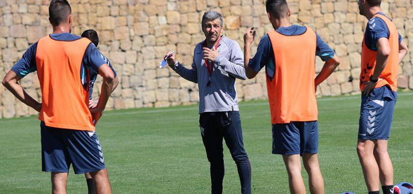 """Cubillo: """"El equipo está con muchas ganas de brindar un buen partido a la afición"""""""