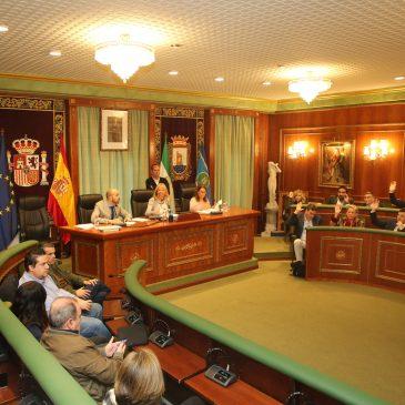 El Pleno aprueba los espacios para la realización gratuita de actos de campaña electoral y para la colocación de propaganda en la vía pública para los comicios europeos y locales del 26 de mayo