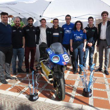 El Vivero de Empresas de Marbella acoge la presentación del proyecto de una moto eléctrica diseñada por alumnos de la UMA y que se alzó el pasado año con la victoria en una competición internacional