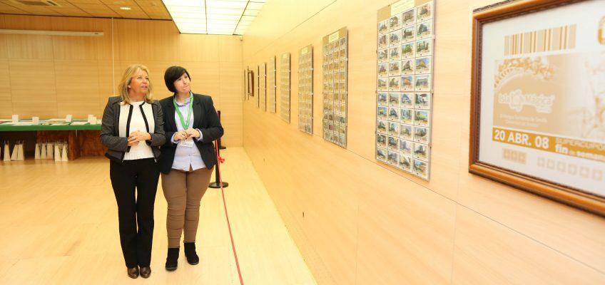 El Palacio de Ferias y Congresos acoge hasta el viernes la exposición 'Capaz de ser capaces', que se enmarca en la Semana de la ONCE en Andalucía