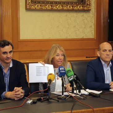 """El Ayuntamiento cierra un ejercicio económico """"solvente"""" con un remanente de Tesorería de más de 91 millones de euros, cumpliendo la estabilidad presupuestaria y con un cero por ciento de deuda financiera"""