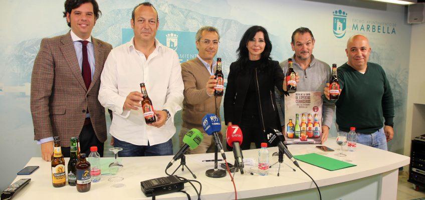 Marbella acogerá del 17 al 19 de mayo la primera Ruta de la Tapa de Expertos Cerveceros de España