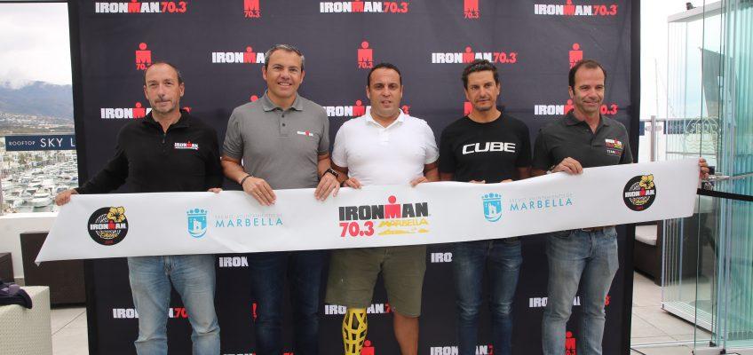2.500 triatletas de todo el mundo se dan cita este sábado en Marbella en la segunda edición del Ironman 70.3  El evento, que abre el circuito en Europa, prevé un impacto económico en la zona de entre 9 y 10 millones de euros