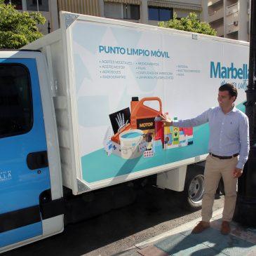 El Ayuntamiento pone en funcionamiento dos nuevos puntos limpios móviles para que los ciudadanos puedan depositar residuos especiales